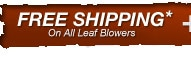 Free Shipping On Most Grass Blowers