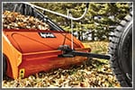How to Collect Leaves with a Riding Mower