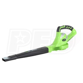 Greenworks G-Max 40-Volt Lithium-Ion Cordless Leaf Blower (Blower Only - No Battery)