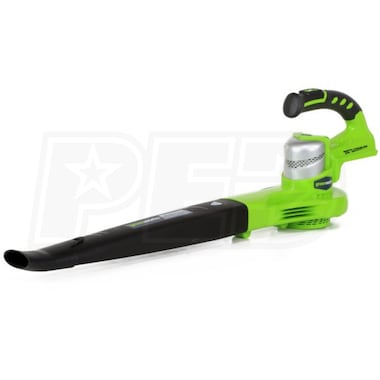 Greenworks G24 24-Volt Lithium-Ion Cordless Leaf Blower (Blower Only - No Battery)
