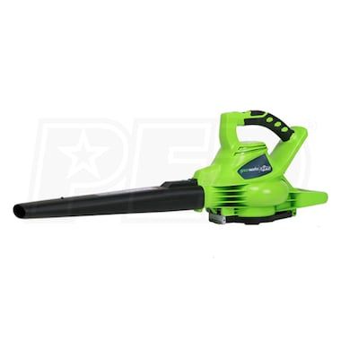 Greenworks G-Max DigiPro 40-Volt, Lithium-Ion Cordless Leaf Blower/Vacuum (Blower Only - No Battery)