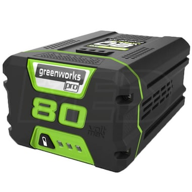 Greenworks GBA80400 80-Volt 4Ah Lithium-Ion Battery