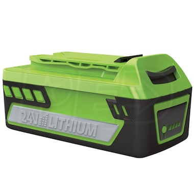 Greenworks 24-Volt Enhanced 4Ah Lithium-Ion Battery