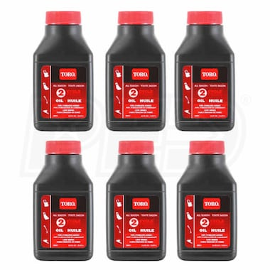 Toro 2-Cycle Oil (Six Pack)