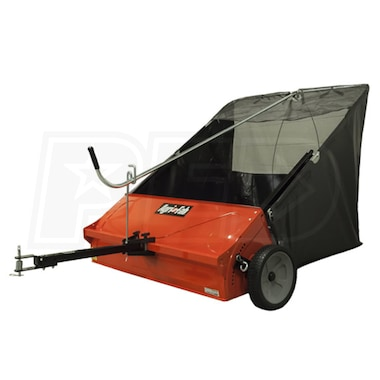 "Agri-Fab (44"") 25 Cubic Foot Tow-Behind Lawn Sweeper"