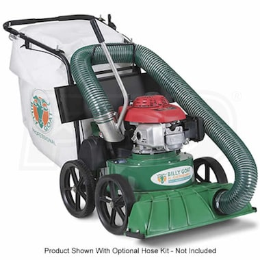 "Billy Goat (27"") 190cc Self-Propelled Lawn/Litter Vacuum"